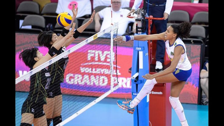 24 July 2015   Brazil vs Japan   2015 FIVB Volleyball World Grand Prix
