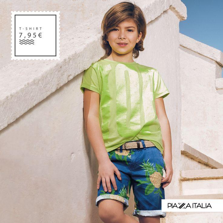 Stile da surf per la collezione moda kids. Scopri i nostri capi e scegli l'abbinamento fashion più cool per i tuoi ragazzi. #estate #fashion #summer