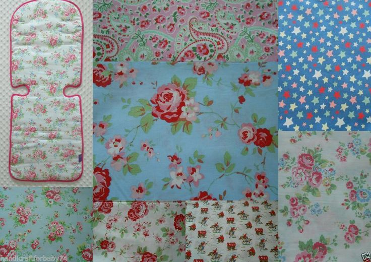 Handmade+Maclaren+Pushchair+Stroller+Buggy+Liner+using+Cath+Kidston+fabrics