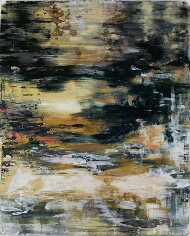 caroline wright: Water, Lights Series, Cool Paintings, Trav'Lin Lights, Caroline Wright, Pretty Art, Outer Spaces, The Roller Coasters