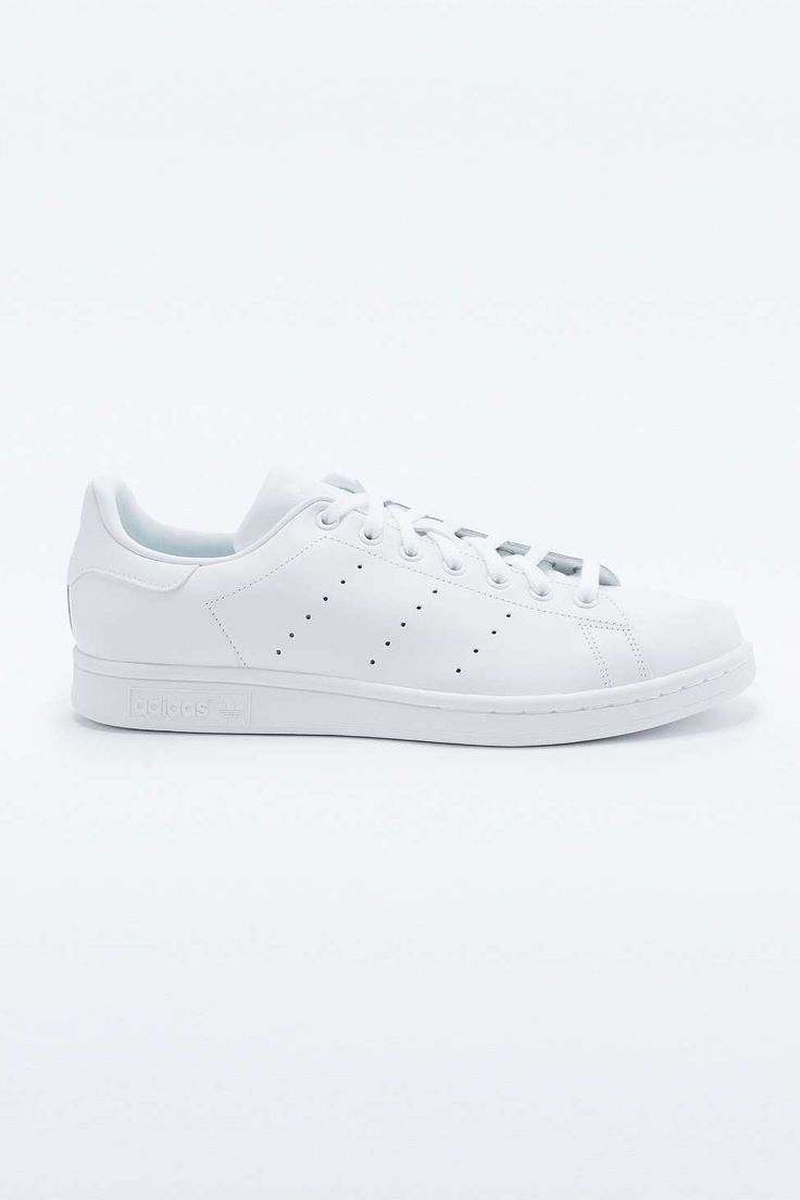 adidas Stan Smith All White Trainers