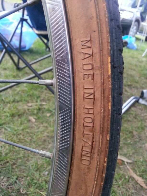 Even the tyres are Dutch