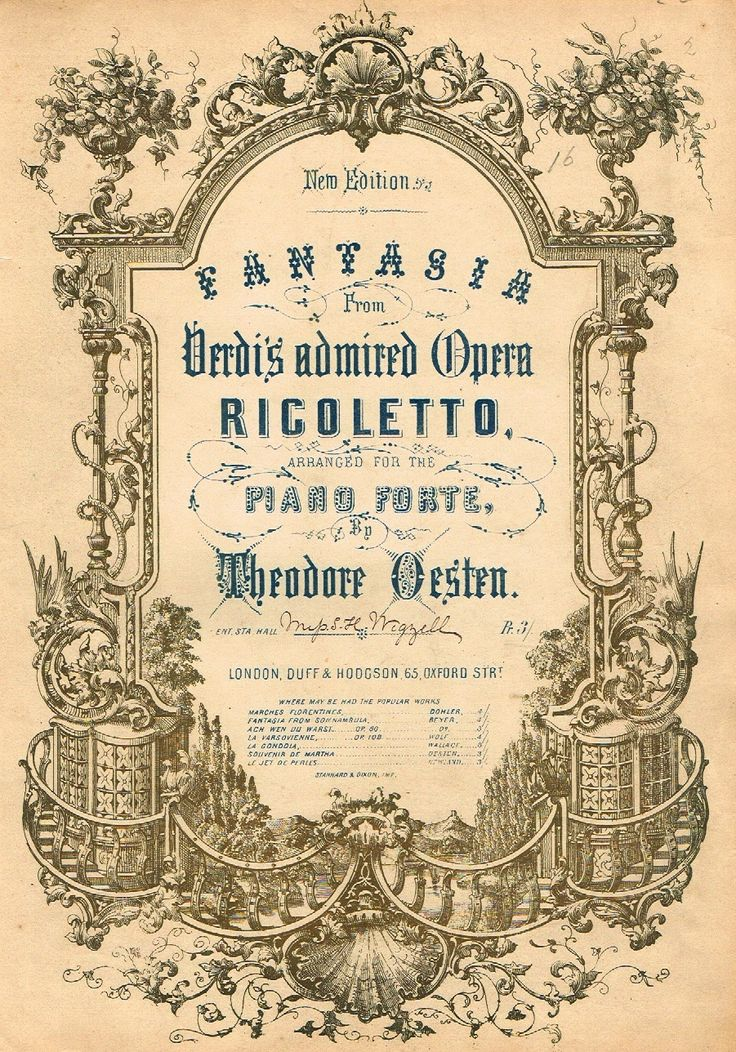 Rigoletto is an opera in three acts by Giuseppe Verdi. The Italian libretto was written by Francesco Maria Piave based on the play Le roi s'amuse by Victor Hugo.
