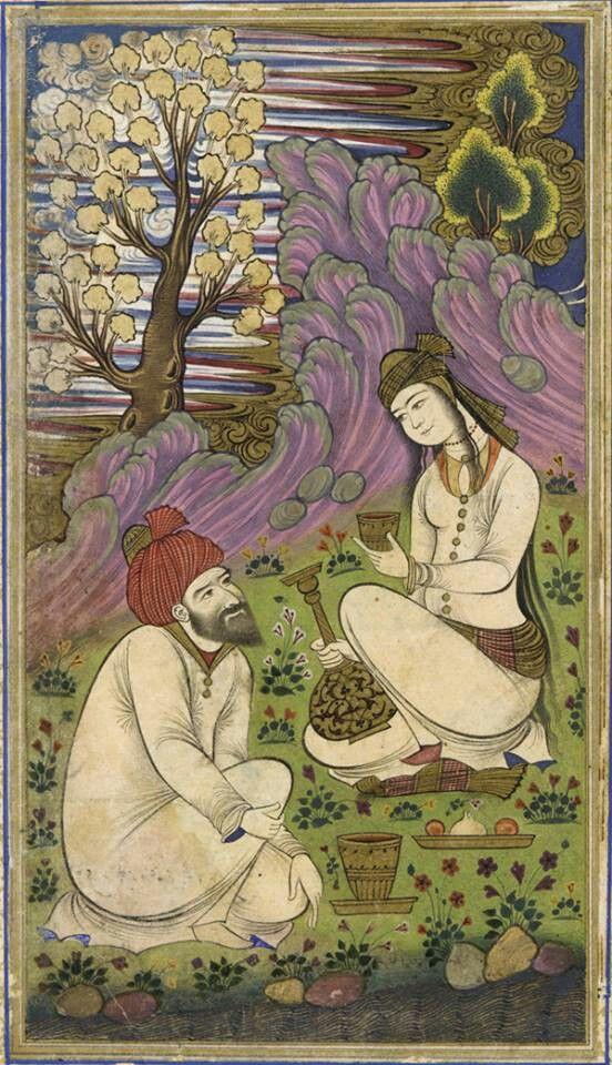 Folio from Divan 1658, Safavid period