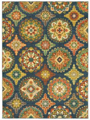 Homemakers Furniture: 7.9 X 10.3 Melrose: Shaw: Rugs: Transitional/Casual