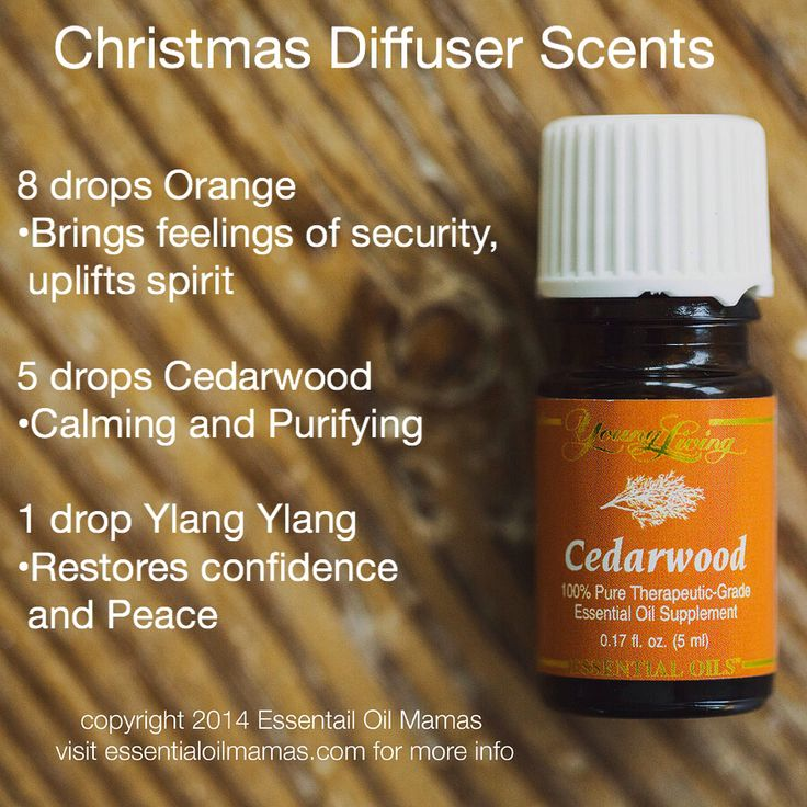 Young Living Essential Oils: Diffuser Cedarwood