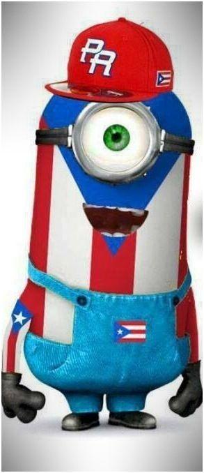 Puerto Rican minion. Hay bendito nene... Lol