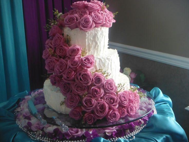 Простой и вкусный крем для украшения свадебных тортов-который не течет(g...