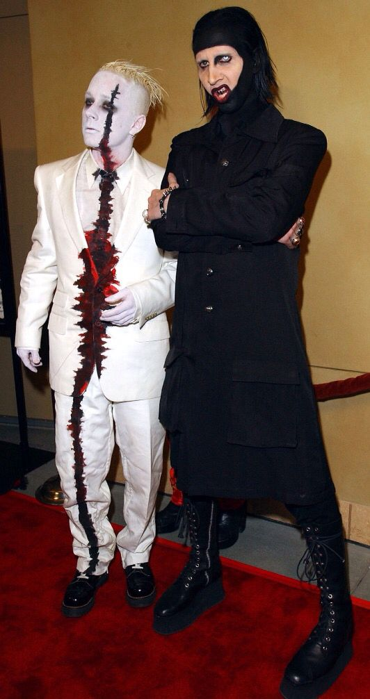 Tim Skold and Marilyn Manson