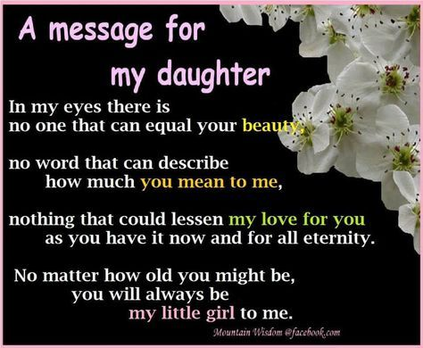 For my sweet girls....