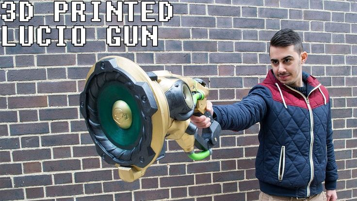 #VR #VRGames #Drone #Gaming Lucio Gun 3D Printed with Real Speakers from Overwatch 3-d printers, 3D Computer Graphics, 3d design, 3D Model, 3d print, 3d printer, 3d printer best buy, 3d printer canada, 3d printer cost, 3d printer for sale, 3d printer price, 3d printer software, 3d printers 2017, 3d printers amazon, 3d printers for sale, 3d printers toronto, 3d printers vancouver, 3d printing, 3d printing (invention), best 3d printer, best 3d printer 2017, Drone Videos, fanta
