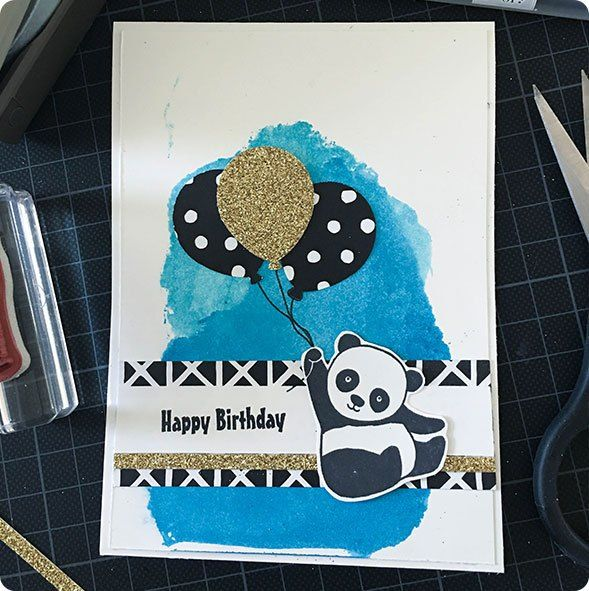 Blog hoppedie hop. Hop als een konijn (panda) door verschillende blog's. #stampinup #stampinup2018 #Stampin'Up! #Stampin'Up!2018 #cardmaking #diy #kaartenmaken #papercraft #partypandas
