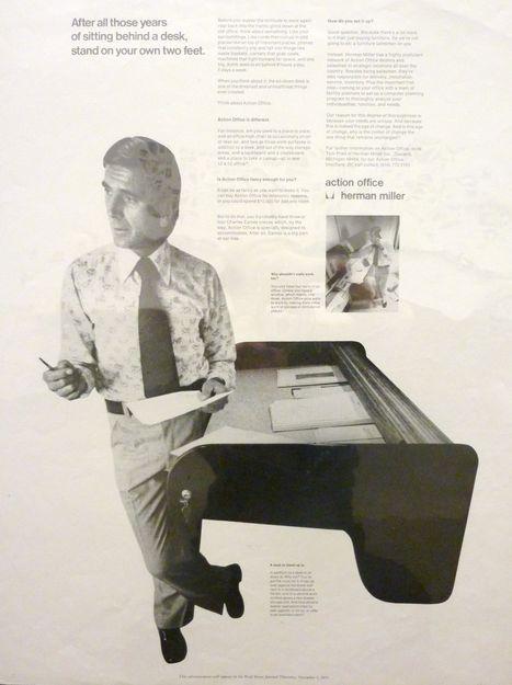 Herman Miller finally brings back their standing desk : TreeHugger