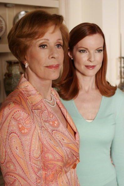 Carol Burnett and Marcia Cross on Desperate Housewives