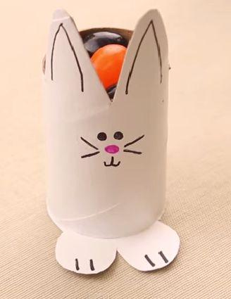Easter Bunny DIY Candy Holder