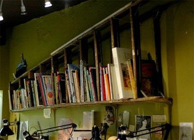 Trash to Treasure Decorating: Recycled Repurposed Ladders