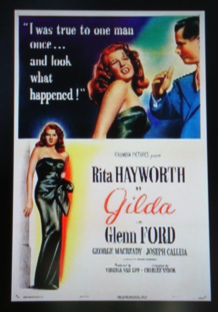 Film Noir Board  GILDA