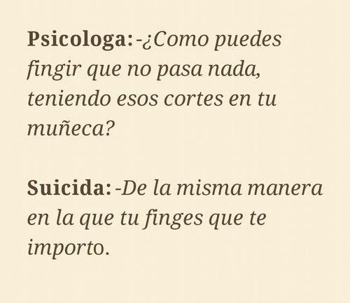 frases suicidas - Buscar con Google