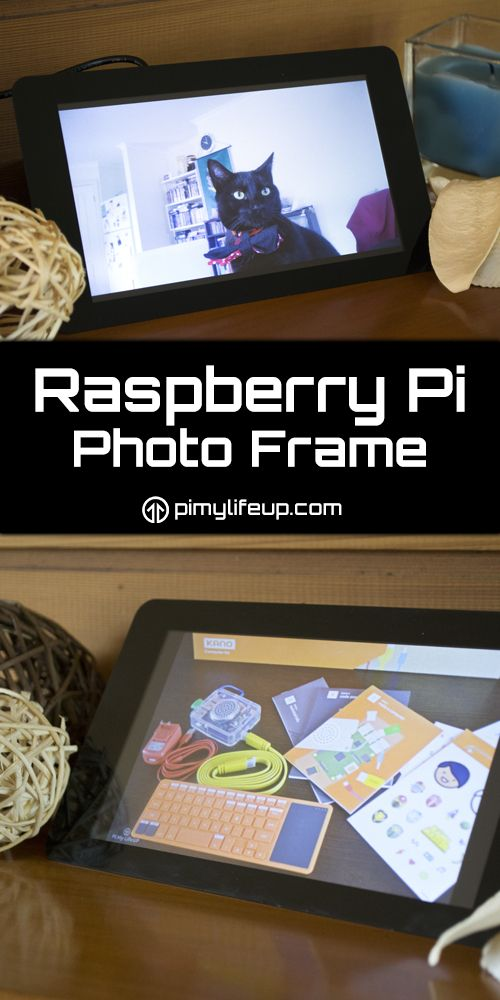 The Pi can be so many things but one of the coolest is its ability to act as a digital photo frame!