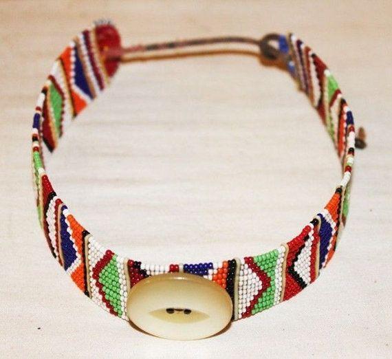Perlas africanas collares de los estados de por KarangisCollections