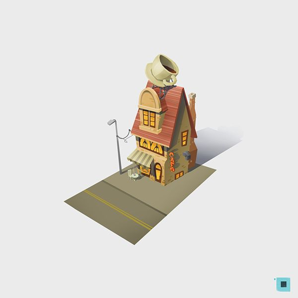 town on Behance ★ Find more at http://www.pinterest.com/competing/
