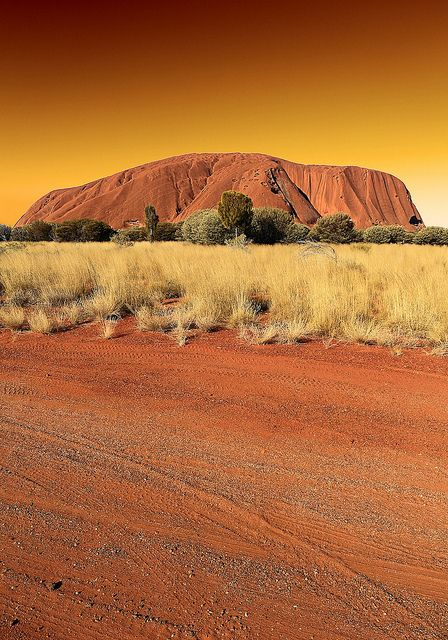 ayers rock (uluru) - australia by peo pea, via Flickr