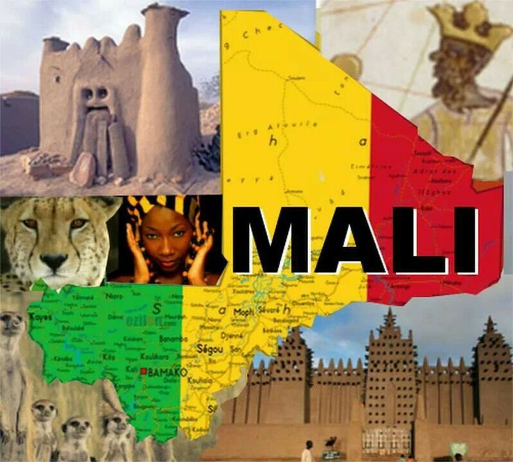 Map of Mali The 48 best Global