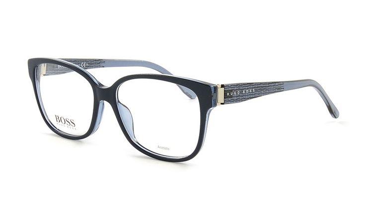 Brille von Hugo Boss 852 B9D 53 Blau Matt