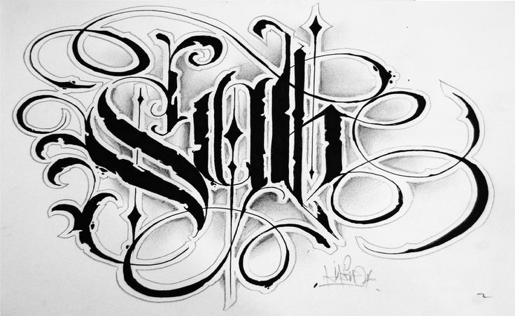 Pin by Andrea Shoaf on Lettering Tattoo lettering