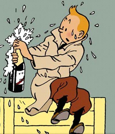 Tintin • Tintin, Herge j'aime