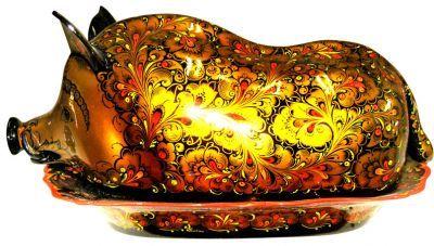 Золотая хохлома – драгоценный народный промысел. | Наслаждение творчеством