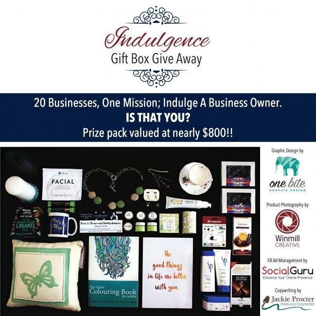 Enter to win: Indulgence Gift Box | http://www.dango.co.nz/s.php?u=kGEjscUD3589