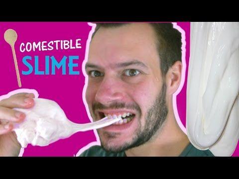 recette slime comestible