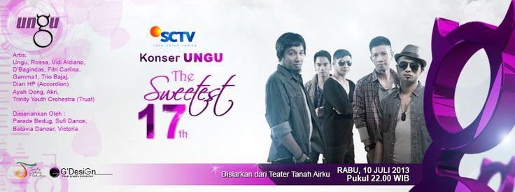 The Sweetest 17th Ungu band..