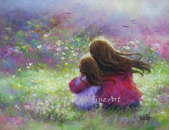 Best 25+ Mother Daughter Art Ideas On Pinterest