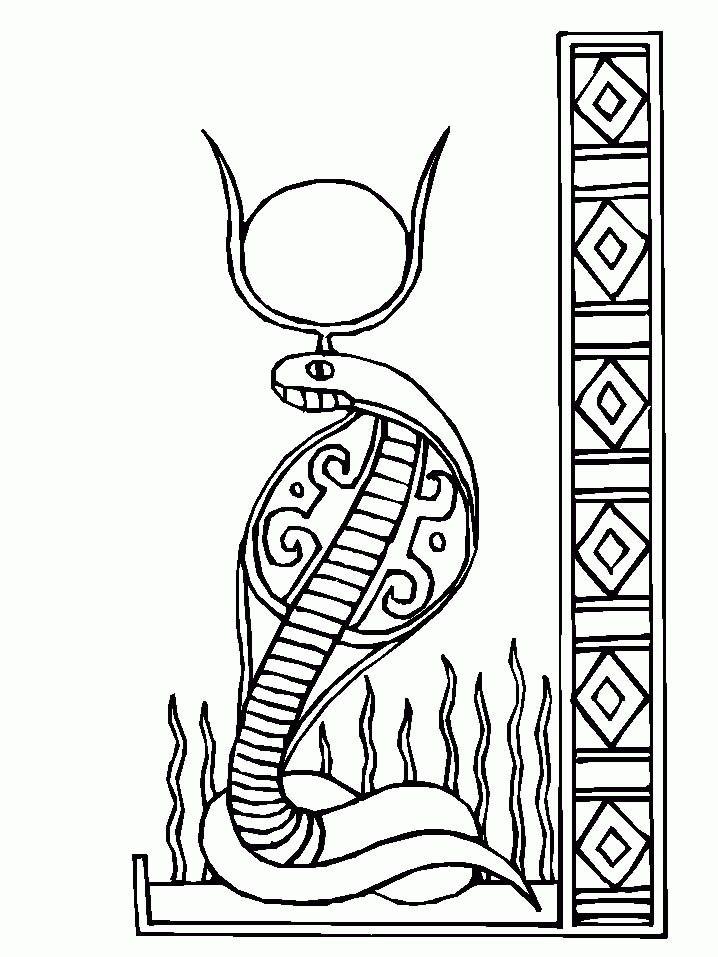 Wadjet Egyptian Drawings Egypt Art Ancient Egyptian Symbols
