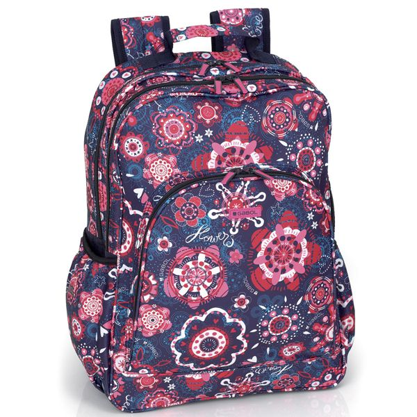 Gabol Secret Multi Backpack. So pretty! #BTS #Backpack4Girls #SchoolBag #BackToSchool