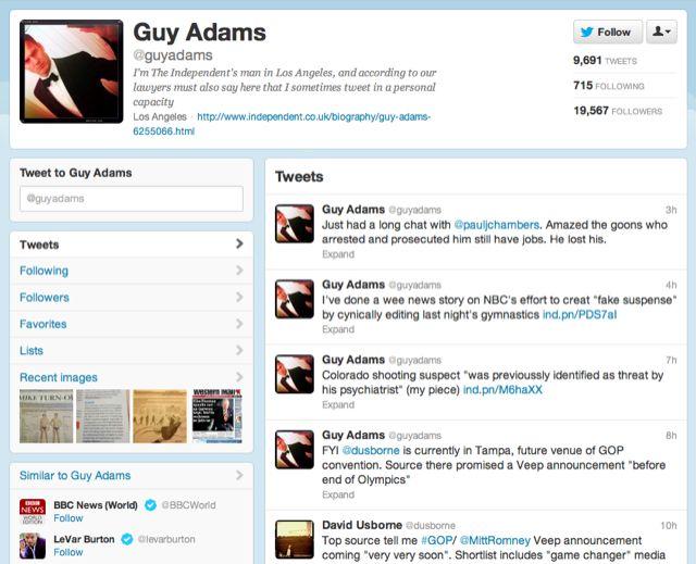 Twitter dérape bêtement. Le réseau de micro-blogging, qui sera probablement le grand gagnant des Jeux Olympiques, a cependant commis une faute non provoquée (comme on dirait en tennis) qui a failli lui coûter très cher en crédibilité.  http://www.superception.fr/2012/08/03/twitter-derape-betement/