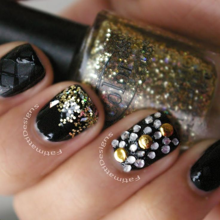 Blinged Out Gold by Fatimah A