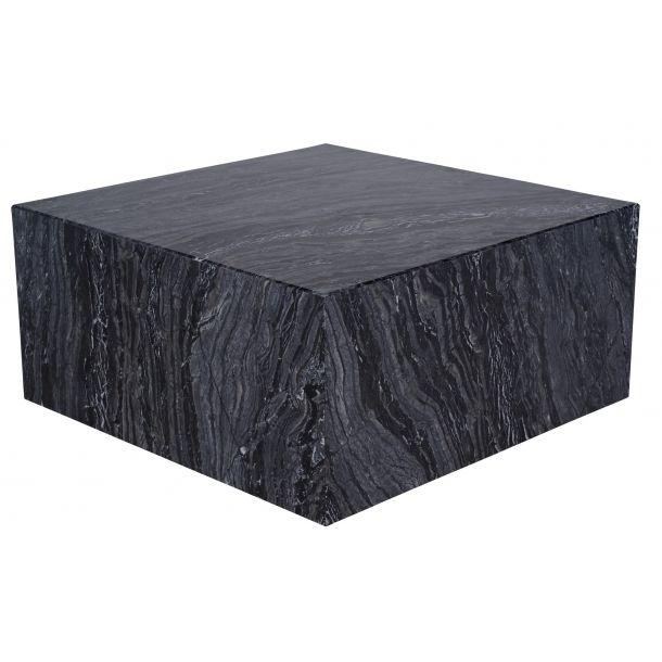 Matisse Coffee Table In Black Stone Top Memoky Com Coffee Table Square Black Marble Coffee Table Marble Coffee Table