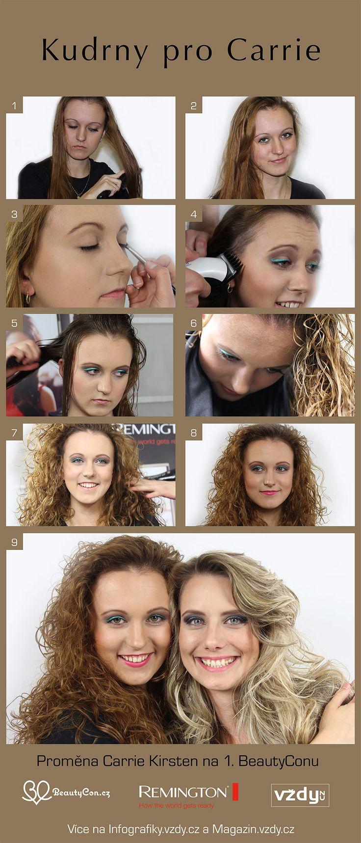 Kudrny pro Carrie na BeautyCon
