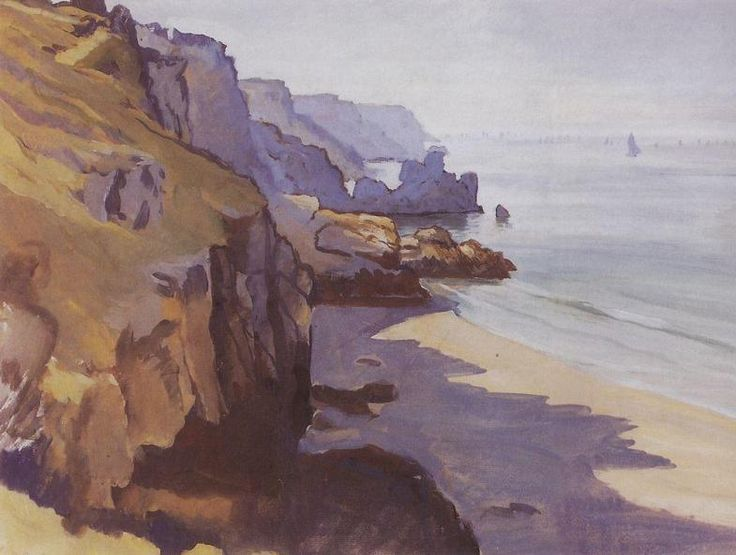 Zinaida Serebriakova - Camaret-sur-mer, Brittany (1927)