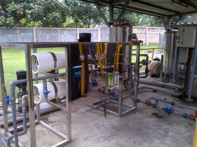 Filter Air Reverse Osmosis Hydro RI 2 dengan kapasitas 2000 liter/hari terpasang di PT. Sumiden Jatake,  Tanggerang. Penyaring air Hydro RO ini awalnya hanya satu unit, namun ternyata belum mencukupi untuk kebutuhan air bersih di perusahaan tersebut, sehingga memesan 1 paket Hydro RO lagi.