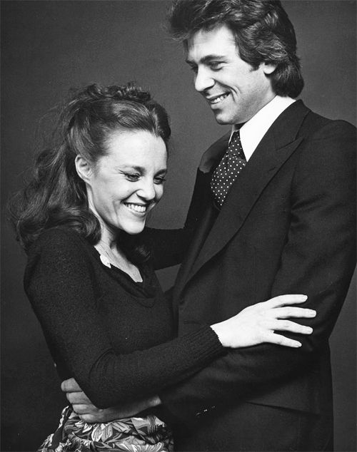 Madeline Kahn and Barry Bostwick publicity portrait for She Loves Me, 1977