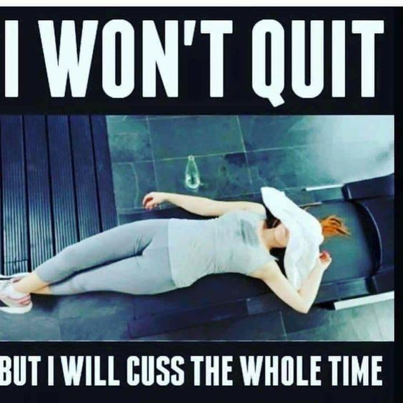 As long as you don't quit! lol