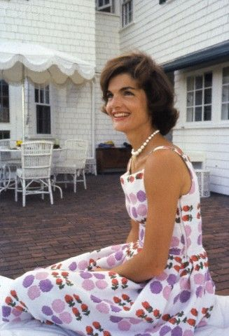 kennedyfascination:  I've never seen this picture before…I just wish I could find it without a watermark.  Jackie in 1959 at Hyannis Port