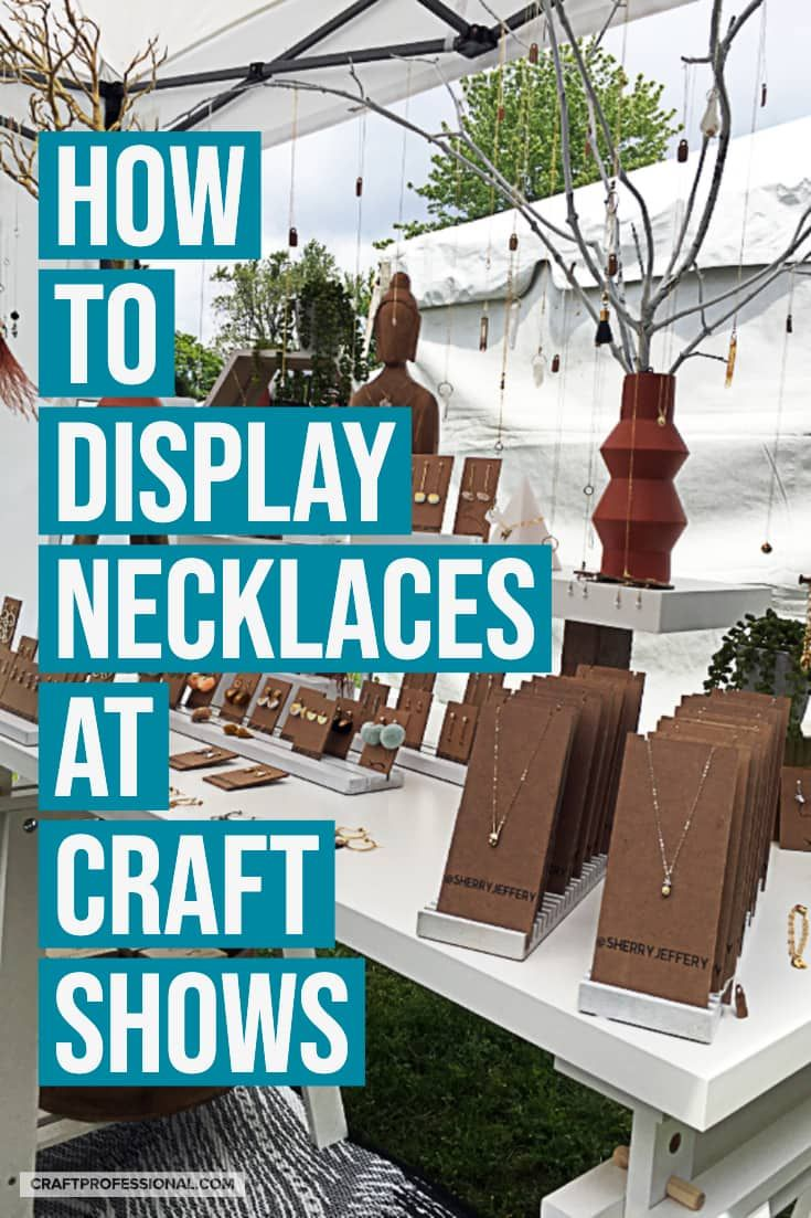 10 Necklace Stand Ideas For Your Jewelry Booth Jewelry Booth