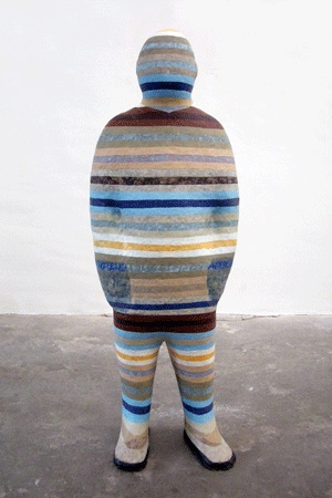 Nick Renshaw  KupfernickelSeries of ceramic figures. Up to 140cm highHigh and multiple fired stoneware clay, various sinter engobes and glazes