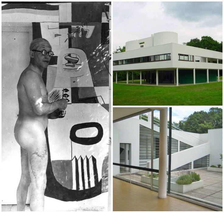 Le corbusier 5 points villa savoye corb pinterest for 5 points of architecture