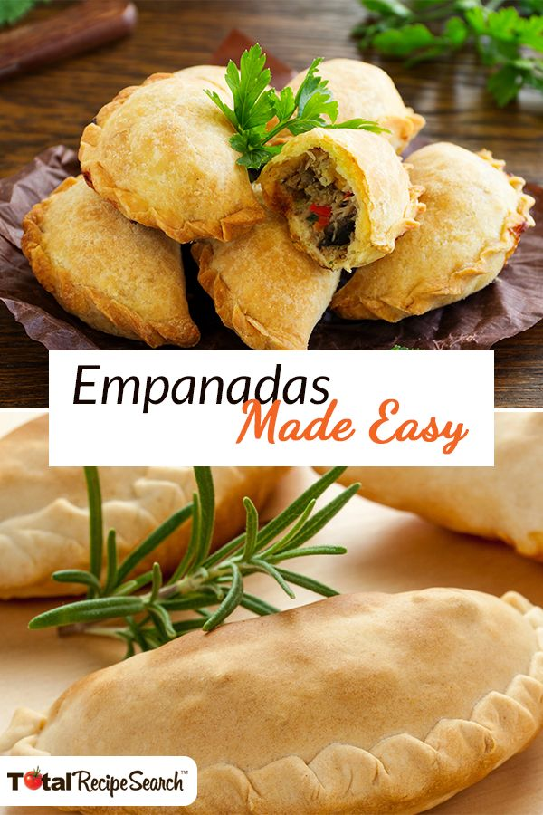 Find easy empanadas recipes on TotalRecipeSearch™, a free app that lets you search for thousands of recipes & search for dishes you'll love.